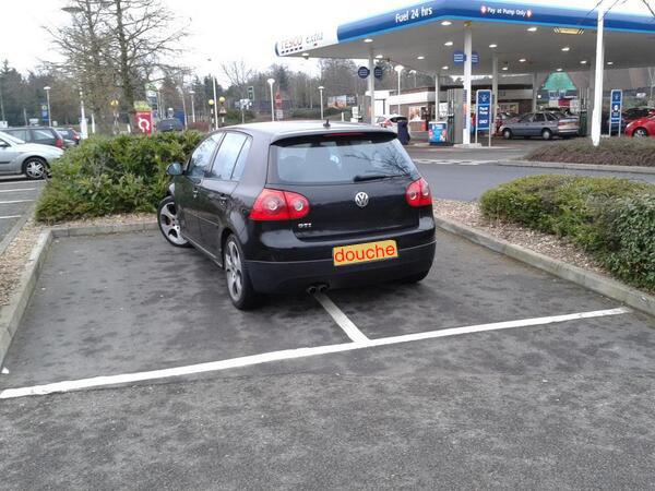 douche-parking